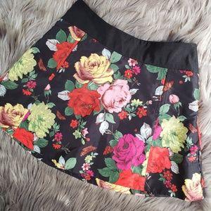 Ted Baker floral mini skirt